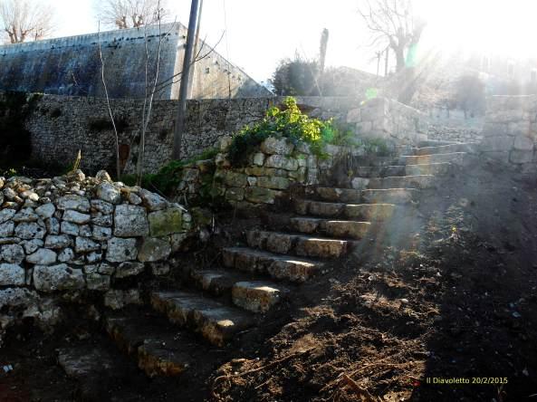 Antica scalinata