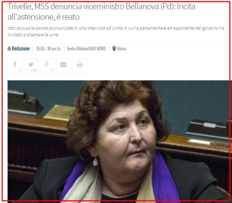 Bellanova incitamento astensione