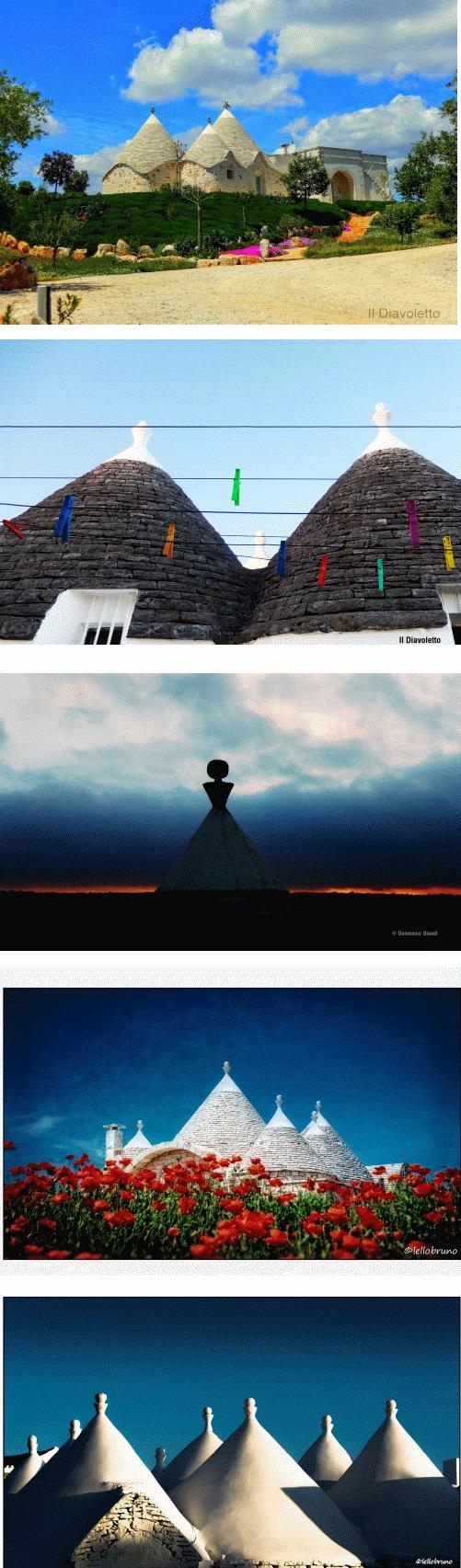 Trulli collage