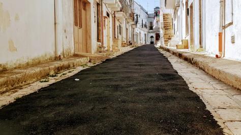 Ceglie asfalto