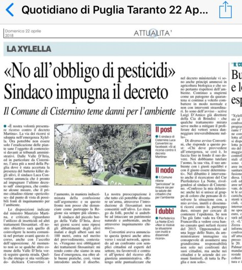 Sindaco Cisternino